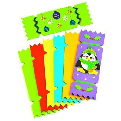 Vánoční kartičky - 6 barev, 28x10 cm - 1