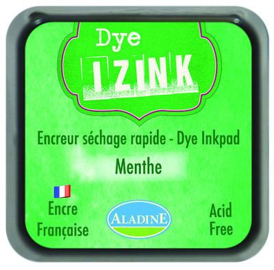 Inkoust Izink rychleschnoucí - Menthe, zelená