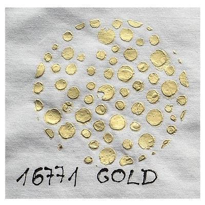 Cadence Fabric 3D pasta měnící barvu 150 ml - zlatá - 1