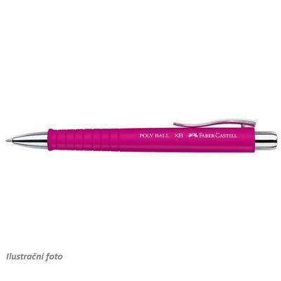 Faber-Castell Kuličkové pero Poly Ball - XB růžové
