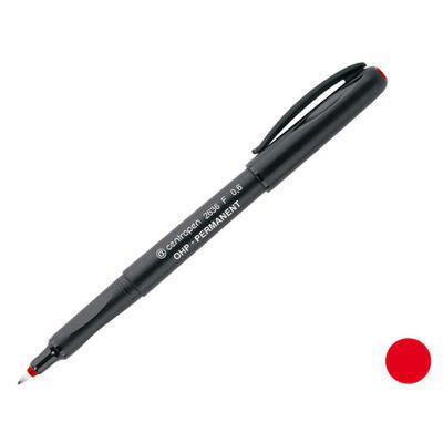 Popisovač Centropen 2636 permanentní  F 0,6 mm - červený