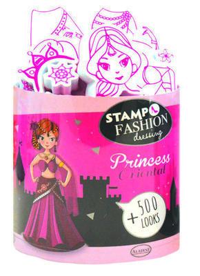 StampoFashion Převlékací panenky - Princezny z Orientu - 1