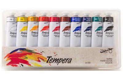 Aero sada temperových barev 10x42ml