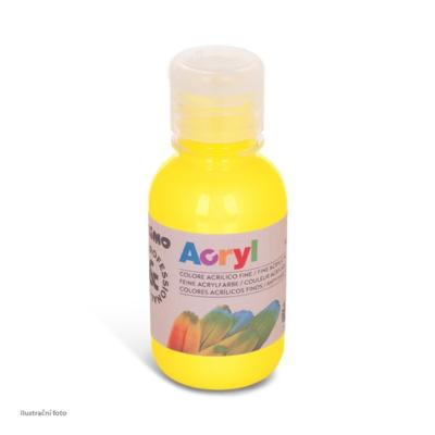 Akrylová barva PRIMO 125 ml č.201 - žlutá