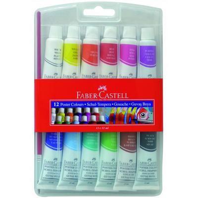 Faber-Castell Temperové barvy Sada 12x12 ml