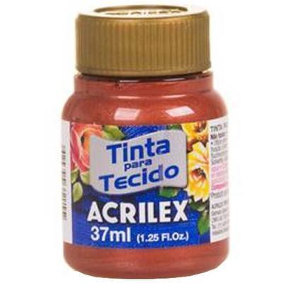 Acrilex Barva na textil 37ml - metalická měděná 534 - 1