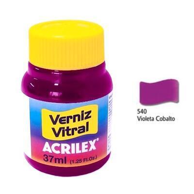 Vitrážová barva ACRILEX 37ml - Cobalt Violet - 1