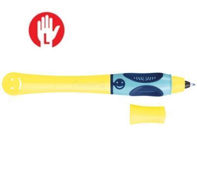 Pelikan Inkoustový roller Griffix 3 pro leváky - žlutý/modrý - 1