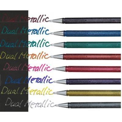 Pentel Roller Glitter Gel 1.0 mm - zlatý - 1