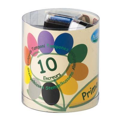 StampoColors - Primary, barevné polštářky - 1
