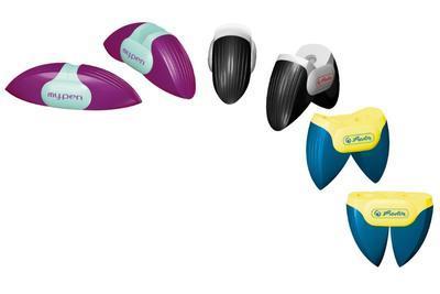 Dvojité ořezávátko my.pen - mix barev  - 1
