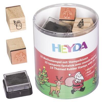 HEYDA Sada razítek 15 ks - Vánoce    - 1