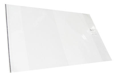 Obal na sešit i knihu UNIverzální 310x540 s lepicím proužkem