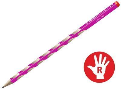 """Stabilo EASYgraph """"S"""" pro praváky 326/01-HB růžová"""