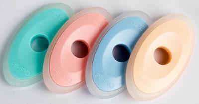 Pryž Aihao 12012 Eraser pro mazatelná pera, 124 x 65mm, 4 barvy
