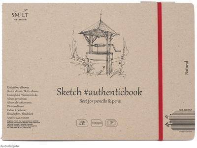 SMLT Blok Sketch Natural A5, 100 g/m2, 32 listů