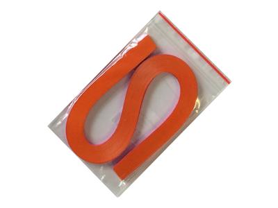 Proužky na Quilling šířka 3mm - oranžové - 1