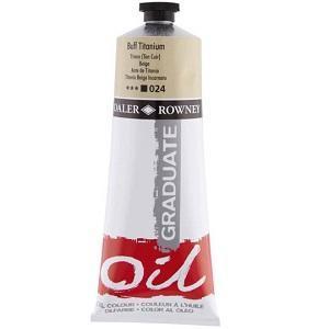 Daler & Rowney Graduate Oil 200 ml - buff titanium 024 - 1