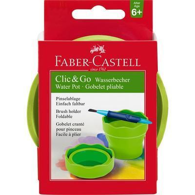 Faber-Castell Kelímek na vodu Clic&Go - zelený - 1