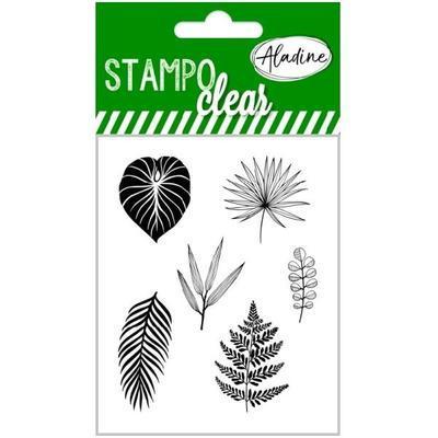 Gelová razítka StampoClear - tropické listy