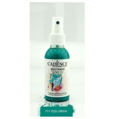 Textilní sprej Cadence 100 ml, zelená
