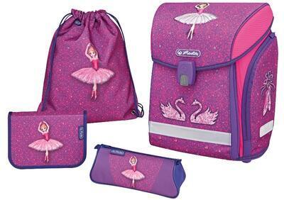 Školní batoh Herlitz  Midi balerína - vybavený - 1