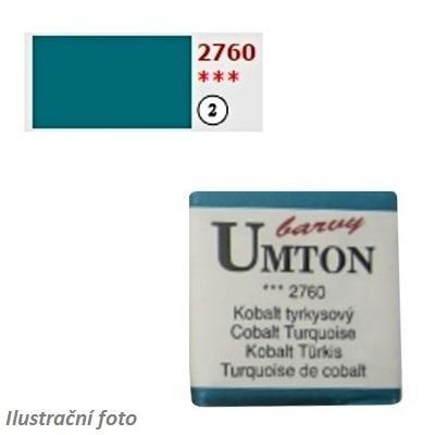 Akvarelová barva 2,6ml - Kobalt tyrkysový/ 2 - 1