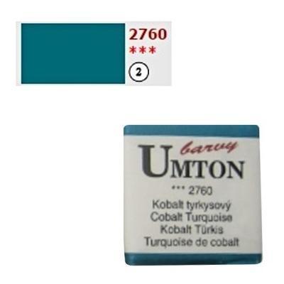 Akvarelová barva 2,6ml - Kobalt tyrkysový - 1