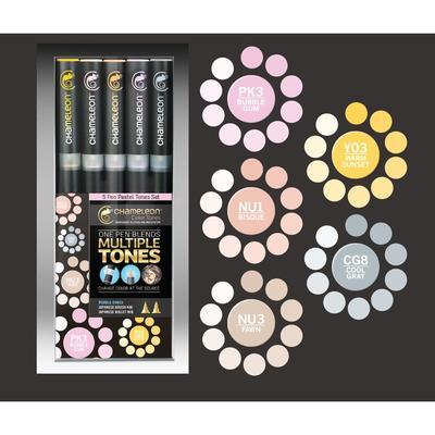 Chameleon Color Tones - 5 ks, Pastel Tones      - 1