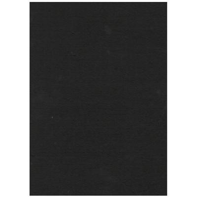 Filc 23 x 30 cm - černý