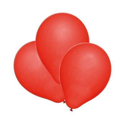 Balónky  25ks - červené