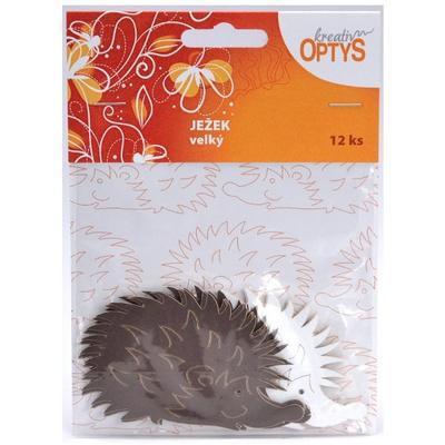 Výřez - Velký ježek, 12 ks - 1