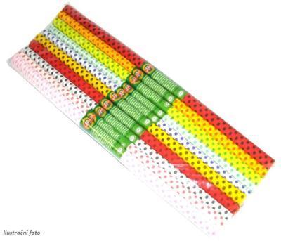 Koh-i-noor Krepový papír 9755/S101 tečkovaný - souprava 10 ks