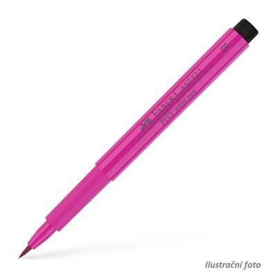 Faber-Castell PITT Artist Pen B - středně fialovo - růžový č. 125 - 1