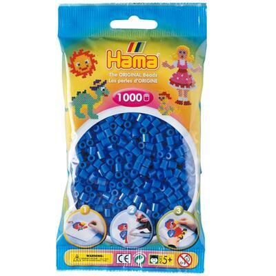 Hama MIDI Zažehlovací korálky 1000 ks - světle modré