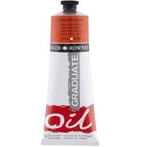 Daler & Rowney Graduate Oil 38 ml - cadmium orange hue 619 - 1