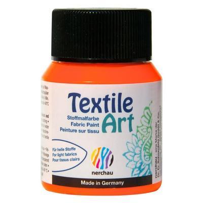 Textile Art 59 ml barva na světlý textil - oranžová neon - 1