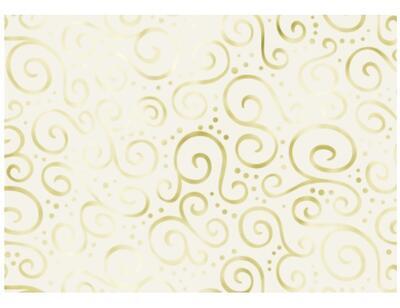 Karton Milano Elegance A4, 220 g/m2 - krémový/zlatý