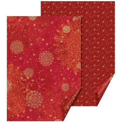 Fotokarton 50x70cm, 300g/m2 - vločky červený