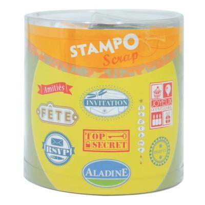 StampoScrap - Nápisy I. - 1
