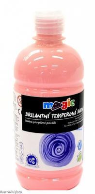 Temperová barva Magic 500 ml - Růžová