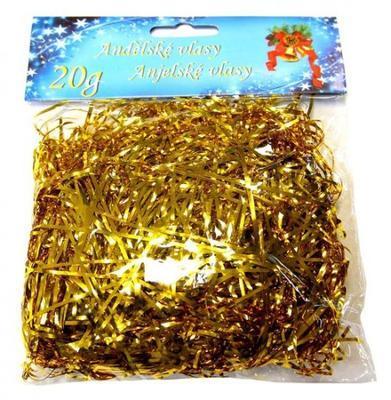 Andělské vlasy 20 g - zlaté