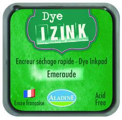 Inkoust Izink rychleschnoucí - Emeraud, smaragdová