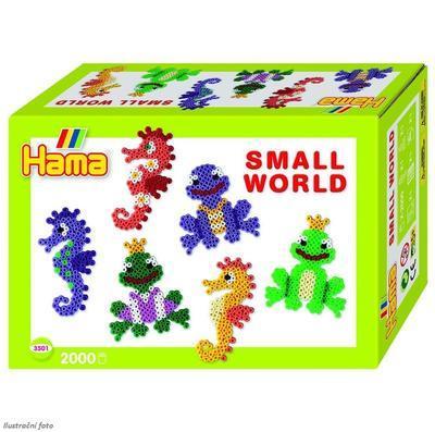 Hama Midi Malý svět - Vodní zvířátka, 2000 ks  - 1