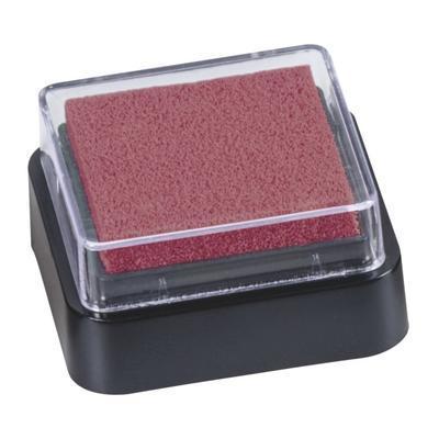 Razítkovací polštářek mini 3x3 cm - tmavě červený