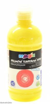 Temperová barva Magic 500 ml - žlutá