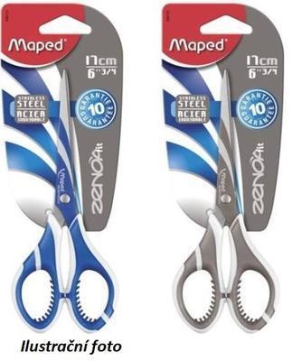 Nůžky MAPED Zenoa Fit 17 cm symet., mix barev