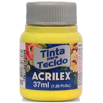 Acrilex Barva na textil 37ml - kanárkově žlutá 589 - 1