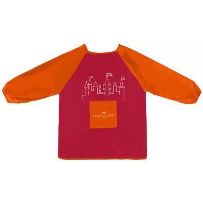Faber-Castell Zástěrka na malování - červená/oranžová - 1