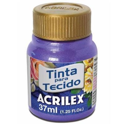 Acrilex Barva na textil 37ml - metalická fialová 516 - 1